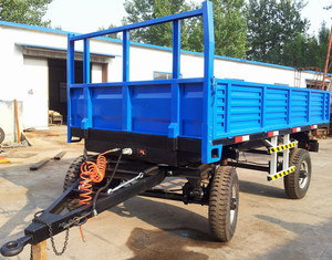 Common Double Axles Trailer