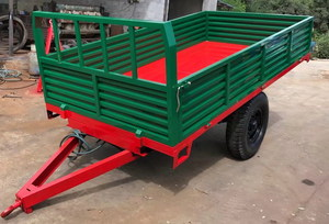 Common Single Axle Trailer