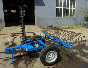 Hay Rake with Mower